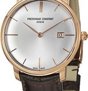 Frederique Constant Classics Fc-306v4s9 Kello Hopea / Nahka