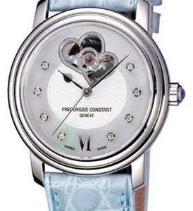 Frederique Constant Ladies Automatic Fc-310dhb2p6 Kello Nahka