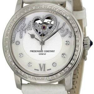 Frederique Constant Ladies Automatic Fc-310sq2pd6 Kello Nahka