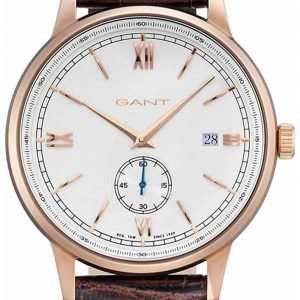 Gant Freeport Gt023002 Kello Valkoinen / Nahka