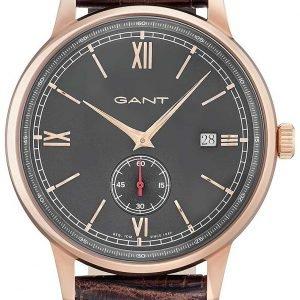 Gant Freeport Gt023003 Kello Harmaa / Nahka