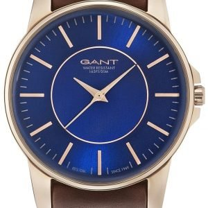 Gant Gt003014 Kello Sininen / Nahka