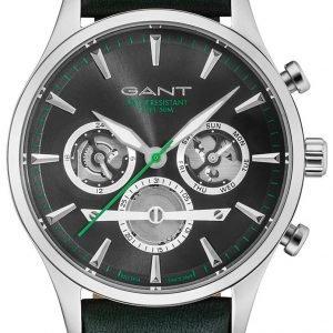 Gant Gt005014 Kello Musta / Nahka