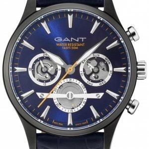 Gant Gt005015 Kello Sininen / Nahka