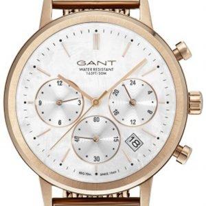 Gant Gt032011 Kello Valkoinen / Punakultasävyinen