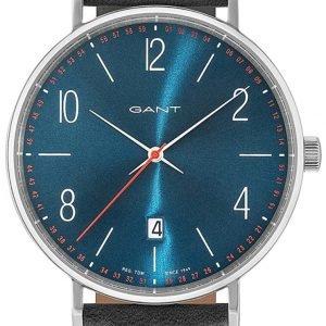 Gant Gt034006 Kello Sininen / Nahka
