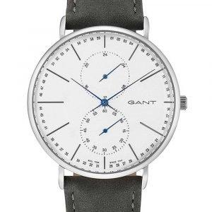 Gant Gt036003 Kello Valkoinen / Nahka
