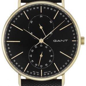 Gant Gt036006 Kello Musta / Nahka