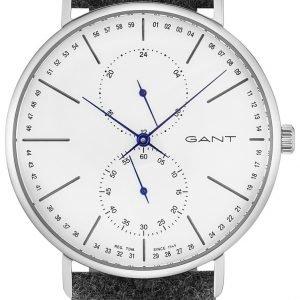 Gant Gt036007 Kello Valkoinen / Nahka