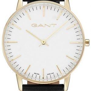 Gant Gt039004 Kello Valkoinen / Nahka