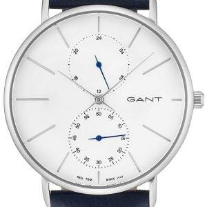 Gant Gt045001 Kello Valkoinen / Nahka
