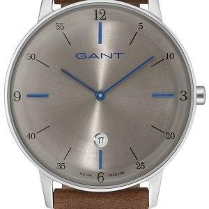 Gant Gt046006 Kello Hopea / Nahka