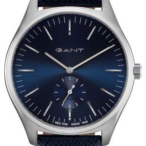 Gant Gt062002 Kello Sininen / Nahka