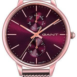 Gant Gt071002 Kello Punainen / Punakultasävyinen