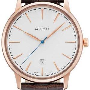 Gant Stanford Gt020003 Kello Valkoinen / Nahka