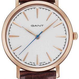 ... Gant Stanford Gt021003 Kello Valkoinen   Nahka a03ceda4a4