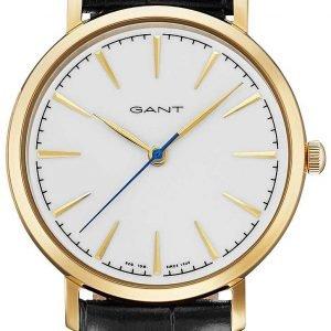 ... Gant Stanford Gt021004 Kello Valkoinen   Nahka 8b9c13b329