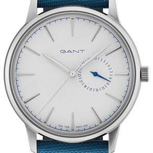 Gant Stanford Gt048002 Kello Valkoinen / Nahka