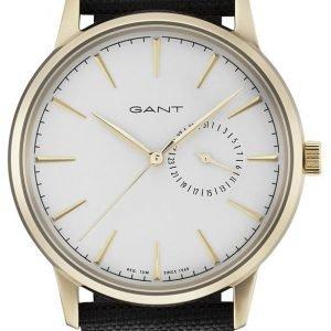 Gant Stanford Gt048005 Kello Valkoinen / Nahka
