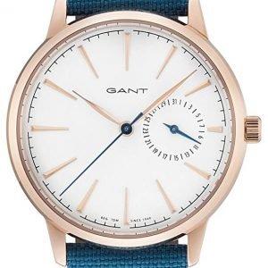 Gant Stanford Gt049002 Kello Valkoinen / Nahka