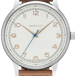 Gant Tremonth Gt025004 Kello Valkoinen / Nahka