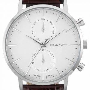 Gant W11201 Kello Valkoinen / Nahka