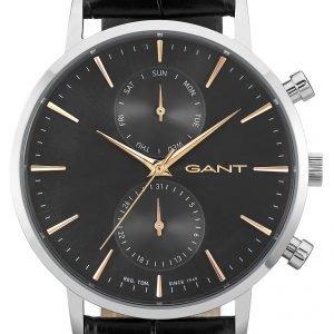 Gant W11202 Kello Musta / Nahka