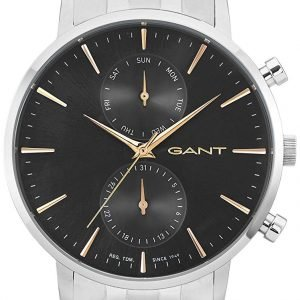 Gant W11204 Kello Musta / Teräs