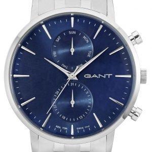 Gant W11206 Kello Sininen / Teräs