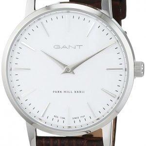 Gant W11401 Kello Valkoinen / Nahka