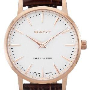 Gant W11402 Kello Valkoinen / Nahka
