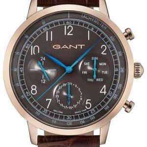 Gant W71204 Kello Ruskea / Nahka