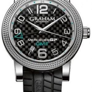Graham Mercedes Gp Time Zone 2mecs.B03a Kello Musta / Kumi