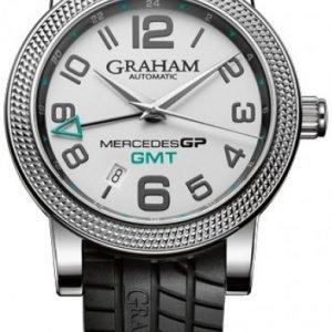 Graham Mercedes Gp Time Zone 2mecs.S03a Kello Hopea / Kumi