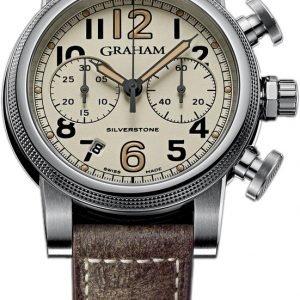 Graham Silverstone 2sabs.W01a Kello Ruskea / Nahka