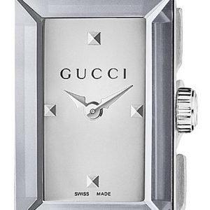 Gucci G- Frame Ya147501 Kello Valkoinen / Teräs