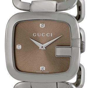 Gucci G Gucci Ya125401 Kello Ruskea / Teräs