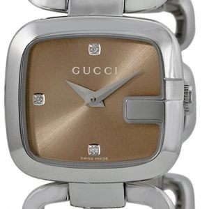 Gucci G Gucci Ya125503 Kello Ruskea / Teräs