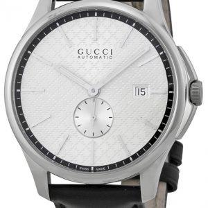 Gucci G-Timeless Ya126313 Kello Hopea / Nahka