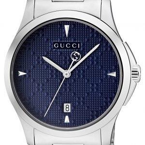 Gucci G-Timeless Ya1264025 Kello Sininen / Teräs
