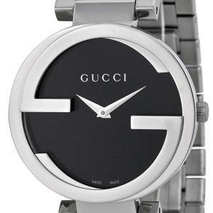 Gucci Interlocking Ya133307 Kello Musta / Teräs