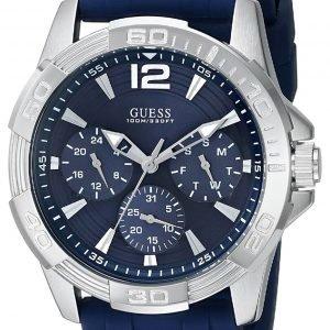 Guess Oasis W0366g2 Kello Sininen / Teräs