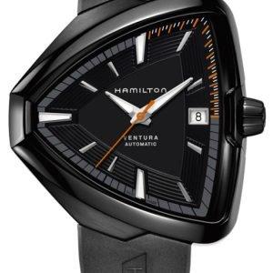 Hamilton American Classic Ventura H24585331 Kello Musta / Kumi