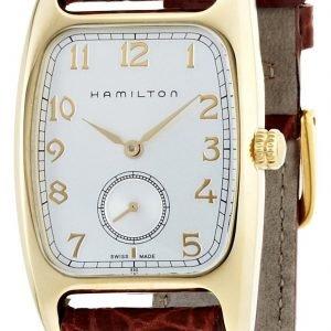 Hamilton Boulton H13431553 Kello Hopea / Nahka