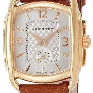 Hamilton H12341555 Kello Hopea / Nahka