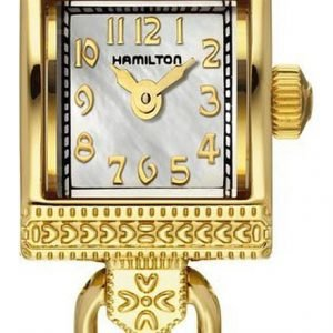 Hamilton H31231113 Kello Valkoinen / Kullanvärinen Teräs