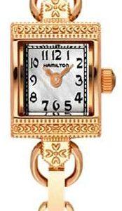Hamilton H31241113 Kello Valkoinen / Kullanvärinen Teräs
