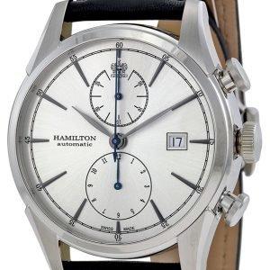 Hamilton H32416781 Kello Hopea / Nahka