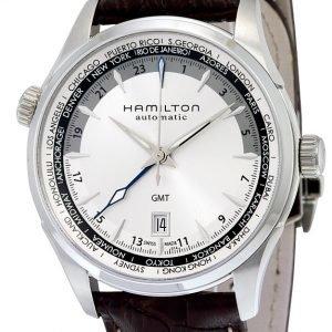 Hamilton H32605551 Kello Hopea / Nahka