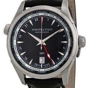 Hamilton H32695731 Kello Musta / Nahka
